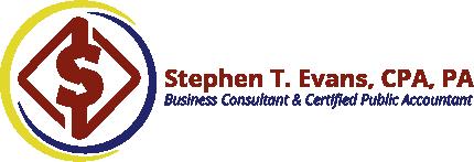 Stephen T. Evans, CPA, PA Logo